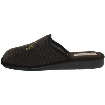 Topánky Muži Papuče Uomodue LORD-5 Brown