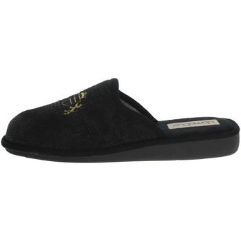 Topánky Muži Papuče Uomodue LORD-4 Black/Grey