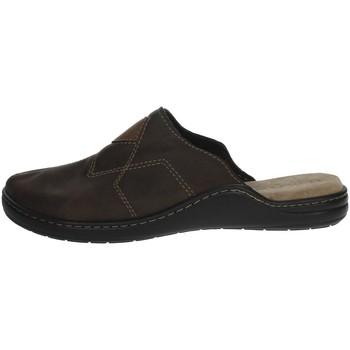 Topánky Muži Šľapky Uomodue LEATHER-58 Brown