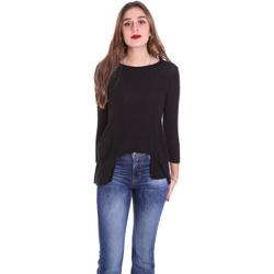 Oblečenie Ženy Tričká s dlhým rukávom Dixie T340M028 čierna