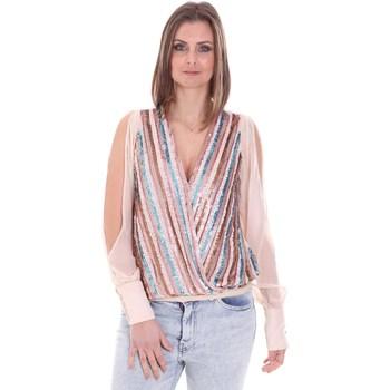 Oblečenie Ženy Blúzky Nenette 26BB-FLORIANA Ružová