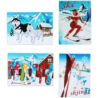 Domov Vianočné dekorácie Signes Grimalt Sneh Magnetické Sept. 4 U Multicolor