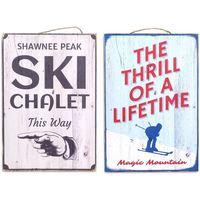 Domov Obrazy, plátna Signes Grimalt Wall Plate Ski 2.Září U Multicolor