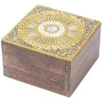Domov Truhlice Signes Grimalt Square Šperkovnica Dorado