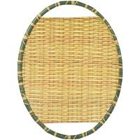 Domov Tácky na drobnosti Signes Grimalt Melamínový Bambusový Podnos Amarillo