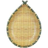 Domov Tácky na drobnosti Signes Grimalt Ovocná Miska Z Bambusového Podnosu Amarillo