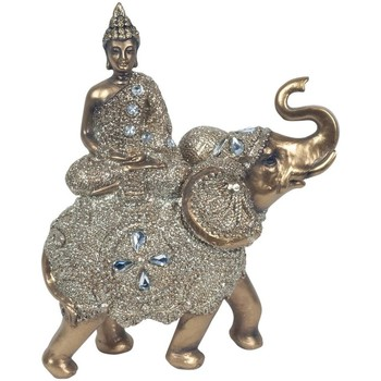 Domov Sochy Signes Grimalt Sediaci Buddha On Elephant Dorado