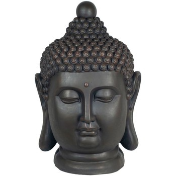 Domov Sochy Signes Grimalt Buddha Hlava Magnesia Negro