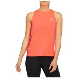 Oblečenie Ženy Tielka a tričká bez rukávov Asics Future Tokyo Tank Oranžová