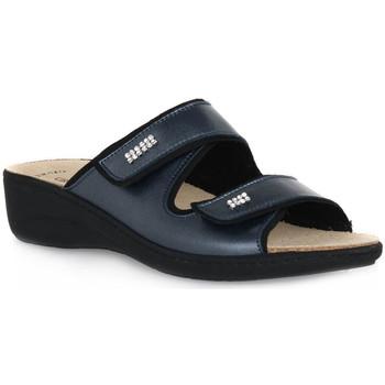 Topánky Ženy Šľapky Grunland BLU 68ESTA Blu