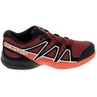 Topánky Deti Nízke tenisky Salomon Speedcross K Rouge Noir Červená
