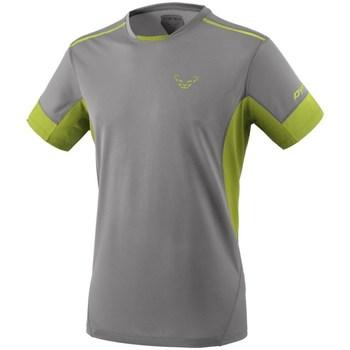 Oblečenie Muži Tričká s krátkym rukávom Dynafit Vertical 2 M SS Sivá, Pastelová zelená