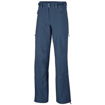 Oblečenie Ženy Nohavice Chinos a Carrot Salewa Sesvenna Freak Dst W Modrá