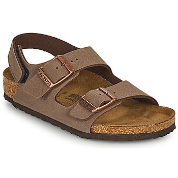 Topánky Chlapci Sandále Birkenstock MILANO HL Hnedá