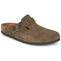 Topánky Nazuvky Birkenstock BOSTON Hnedá