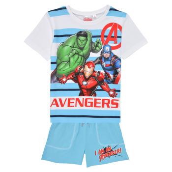 Oblečenie Chlapci Komplety a súpravy TEAM HEROES  AVENGERS SET Viacfarebná