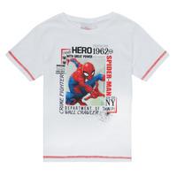 Oblečenie Chlapci Tričká s krátkym rukávom TEAM HEROES  SPIDERMAN TEE Biela