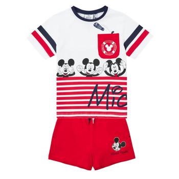 Oblečenie Chlapci Komplety a súpravy TEAM HEROES  MICKEY SET Viacfarebná