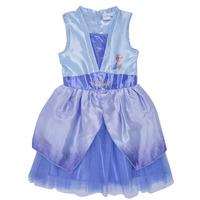 Oblečenie Dievčatá Krátke šaty TEAM HEROES  FROZEN DRESS Modrá