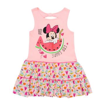 Oblečenie Dievčatá Krátke šaty TEAM HEROES  MINNIE DRESS Ružová