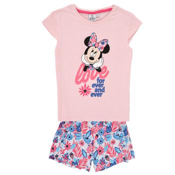 Oblečenie Dievčatá Komplety a súpravy TEAM HEROES  MINNIE SET Ružová