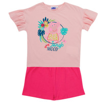Oblečenie Dievčatá Komplety a súpravy TEAM HEROES  PEPPA PIG SET Viacfarebná