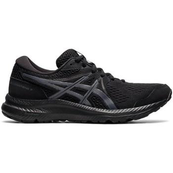 Topánky Ženy Bežecká a trailová obuv Asics Gel Contend 7 Čierna
