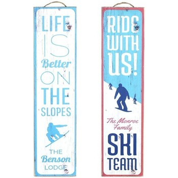 Domov Obrazy, plátna Signes Grimalt Wall Plate Ski 2.Září U Azul