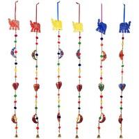 Domov Dekorácie na oslavy, párty výzdoba Signes Grimalt Slonový Prívesok Set 6U Multicolor