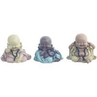 Domov Sochy Signes Grimalt 3 Rôzne Buddha V Septembri 3U Multicolor