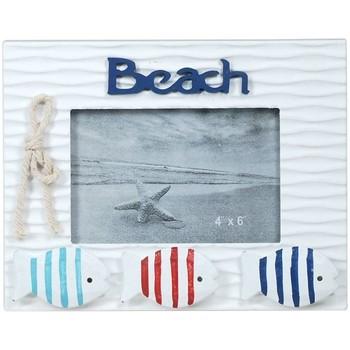 Domov Rámy Signes Grimalt Frame Photo Beach S Rybou Multicolor