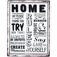 Domov Obrazy, plátna Signes Grimalt Home Plate Wall Multicolor