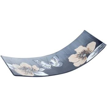 Domov Tácky na drobnosti Signes Grimalt Doska S Kvetinovým Motýľom Multicolor