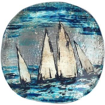 Domov Tácky na drobnosti Signes Grimalt Okrúhle Taniere Azul
