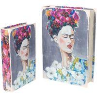 Domov Truhlice Signes Grimalt Kniha Frida 2U Boxy V Septembri Multicolor