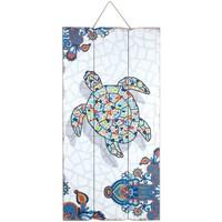 Domov Obrazy, plátna Signes Grimalt Stena Doska Turtle Multicolor