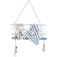 Domov Obrazy, plátna Signes Grimalt Stena Ornament Tampóny Azul