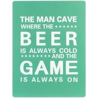Domov Obrazy, plátna Signes Grimalt Wall Plate Beer Game Verde