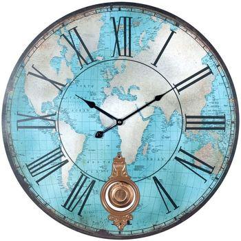 Domov Hodiny Signes Grimalt Svetové Nástenné Hodiny Azul