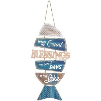 Domov Obrazy, plátna Signes Grimalt Závesný Ornament Fish Azul
