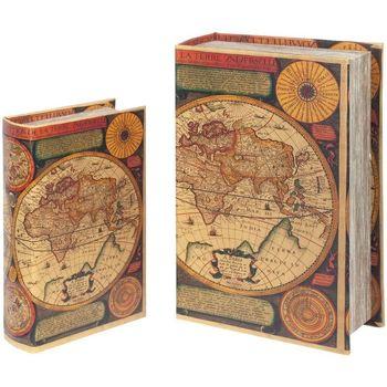 Domov Truhlice Signes Grimalt Krabice Zo Svetovej Knihy Set 2U Multicolor