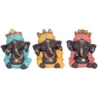 Domov Sochy Signes Grimalt Ganesh Nevidí, Počuť, Hovoriť 3U Multicolor