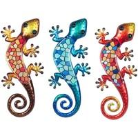 Domov Sochy Signes Grimalt Crystal Lizard 3U Multicolor
