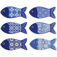 Domov Sochy Signes Grimalt Magnetic Fish 6U Azul