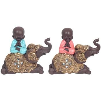 Domov Sochy Signes Grimalt Buddha On Elephant 2U Multicolor