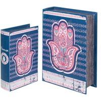Domov Truhlice Signes Grimalt Fatima 2U Boxy Hand Book Azul
