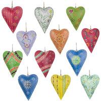 Domov Dekorácie na oslavy, párty výzdoba Signes Grimalt Hearts Septembra 12 Units Multicolor