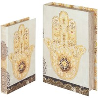 Domov Truhlice Signes Grimalt Hand Book Fatima V Septembri 2U Beige