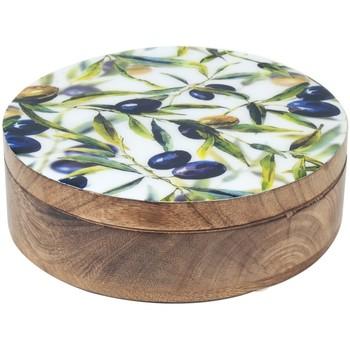 Domov Truhlice Signes Grimalt Olivy Round Box Multicolor