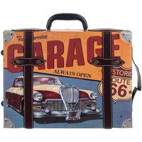 Domov Obrazy, plátna Signes Grimalt Adorno Suitcase Garáž Wall Azul